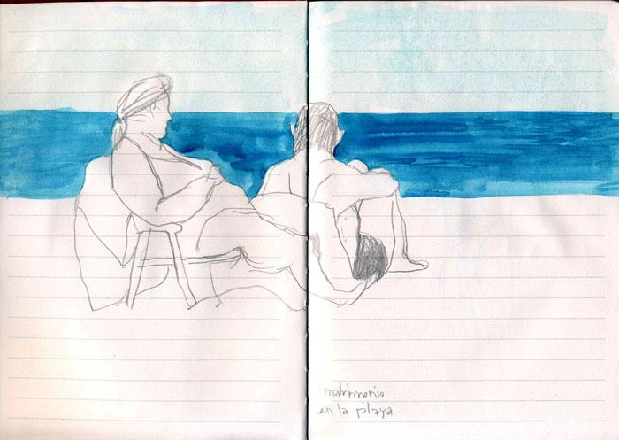veranoplaya  Cuaderno de Dibujo